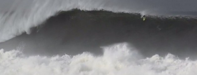 Mark Healey Surfs Possibly the Biggest Paddle-In Wave Ever at Puerto Escondido
