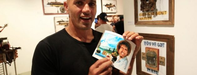 Kelly Slater Hosts an Art Show with Strong Thoughts on the 2016 Presidential Election