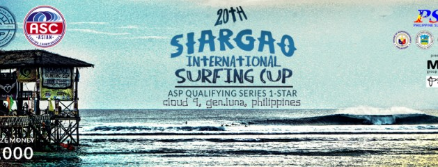 20th SIARGAO CLOUD 9 SURFING CUP Becomes a QS Event..